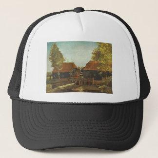 Water Mill at Kollen Near Nuenen 1884, Van Gogh Trucker Hat