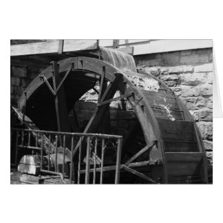 """""""water mill"""" by Larry Coressel Greeting Card"""