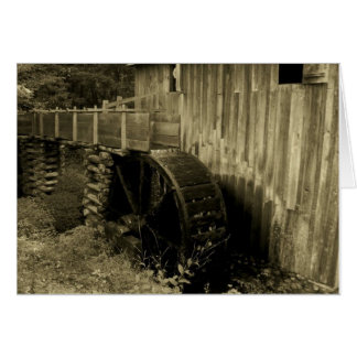 Water Mill Card