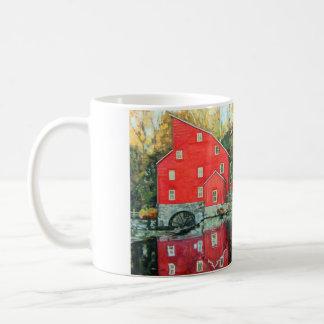 Water Mill, Clifton New Jersey Landmark Wraparound Coffee Mug