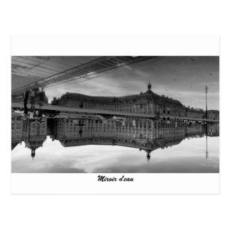 Water mirror postcard