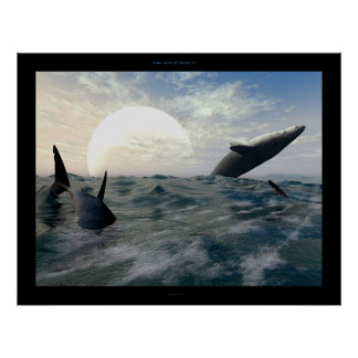 Water moon of Taurus IV Poster