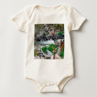 Water Mountain Dews Baby Bodysuit