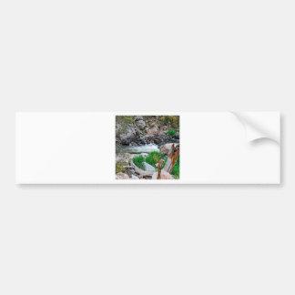 Water Mountain Dews Car Bumper Sticker