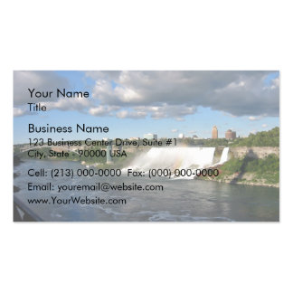 Water moving down the river business card