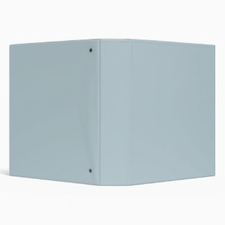 Water Muted Light Blue Solid Color Background Binders