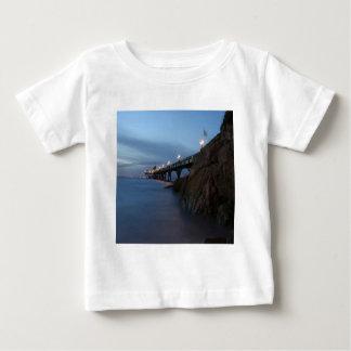 Water Nightime Pier Shot Baby T-Shirt