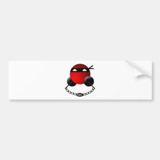 Water Ninja Bumper Sticker