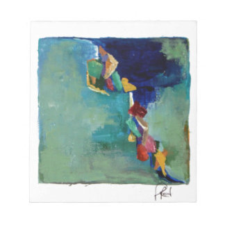 Water No. 76 abstract acrylic Memo Note Pads