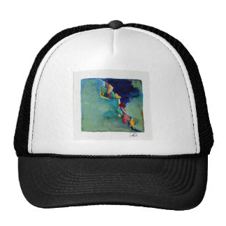 Water No. 76 abstract acrylic Trucker Hat