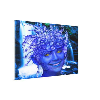 Water Nymph Gallery Wrap Canvas