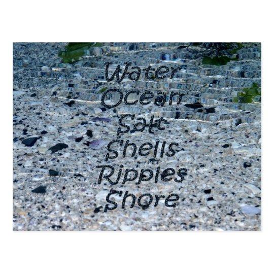 Water Ocean Card