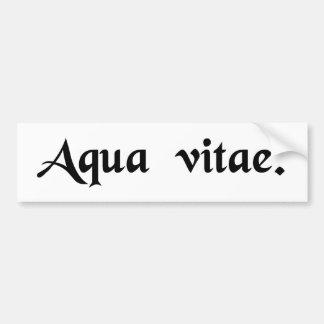 Water of life bumper sticker