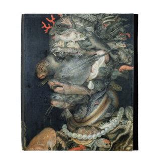 Water, (oil on canvas), Arcimboldo, Giuseppe iPad Folio Case