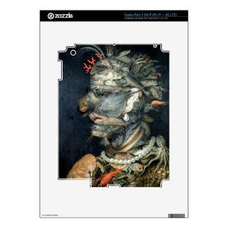 Water, (oil on canvas), Arcimboldo, Giuseppe iPad 3 Skin
