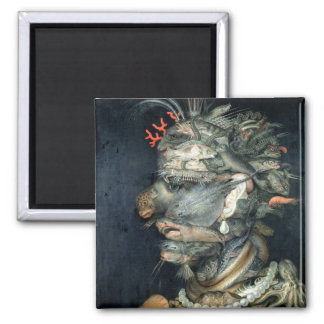 Water, (oil on canvas), Arcimboldo, Giuseppe Magnet