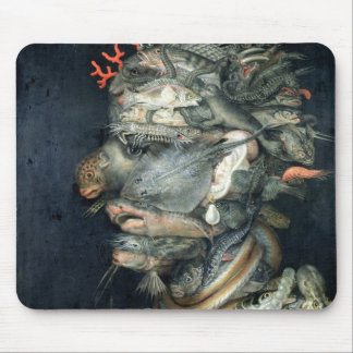 Water, (oil on canvas), Arcimboldo, Giuseppe Mouse Pad