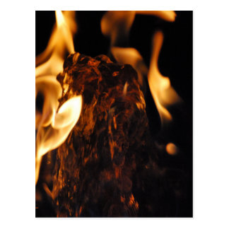 Water on Fire Postcard