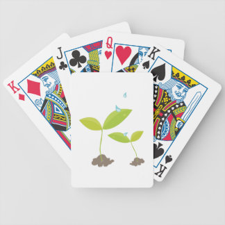 Water On Plants Bicycle Playing Cards