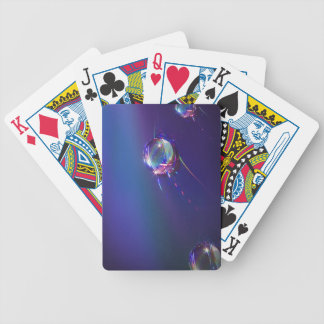 Water on Plastic Abstract Playing Cards Bicycle Playing Cards