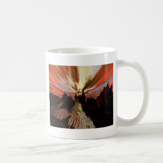 Water On Red Rocks Coffee Mug