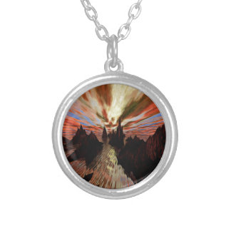 Water On Red Rocks Necklace