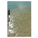 Water on the Beach I Abstract Nature Photography Dry-Erase Board
