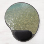 Water on the Beach I Abstract Nature Photography Gel Mouse Pad