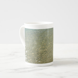 Water on the Beach I Abstract Nature Photography Tea Cup