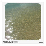 Water on the Beach I Abstract Nature Photography Wall Decal
