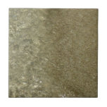 Water on the Beach II Abstract Nature Photography Ceramic Tile