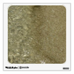 Water on the Beach II Abstract Nature Photography Wall Decal