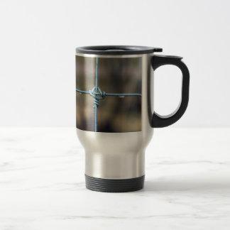 Water On The Fence Travel Mug