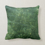 Water over Sea Grass II (Blue and Green) Photo Pillow