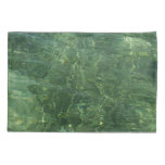 Water over Sea Grass II (Blue and Green) Photo Pillowcase