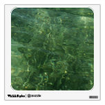 Water over Sea Grass II (Blue and Green) Photo Wall Sticker