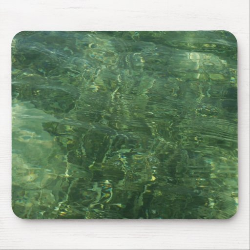Water over Sea Grass Mousepad