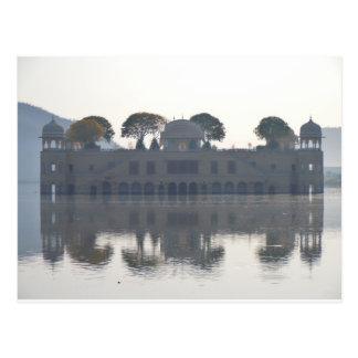 Water palace postcard