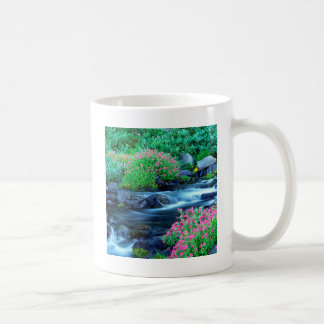 Water Paradise River Mount Rainier Coffee Mug