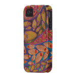 water peacocks painting - iPhone 4 Case-Mate Tough