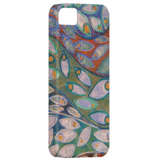 water peacocks painting - iPhone 5 Barely There iPhone SE/5/5s Case
