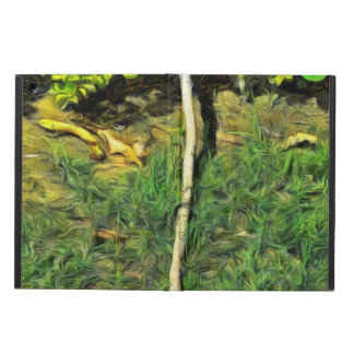 Water pipe in a garden iPad air case