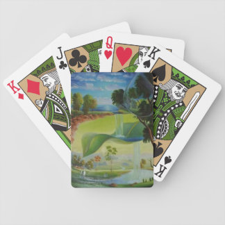 WATER PLANET series by Leomariano Bicycle Playing Cards