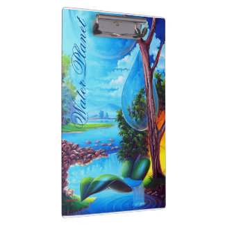 WATER PLANET series by Leomariano Clipboard