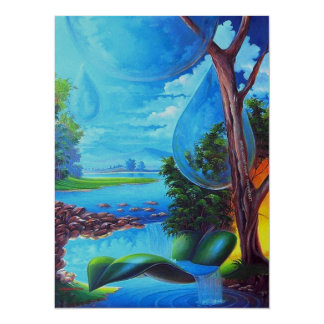 WATER PLANET series - Leomariano artist from Card