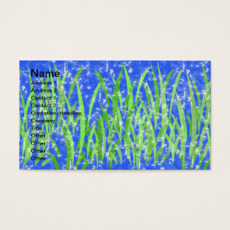 WATER PLANTS BUSINESS CARD