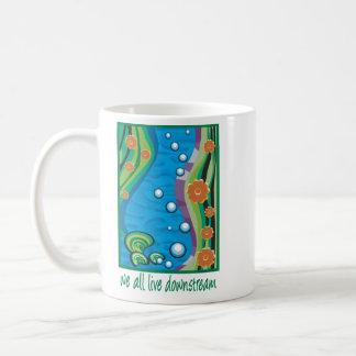 Water Pollution Coffee Mug