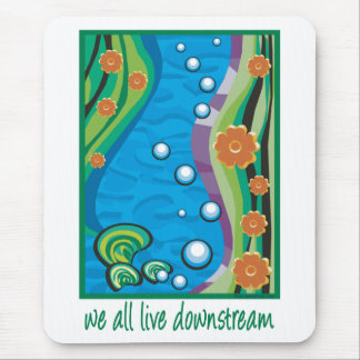 Water Pollution Mouse Pad