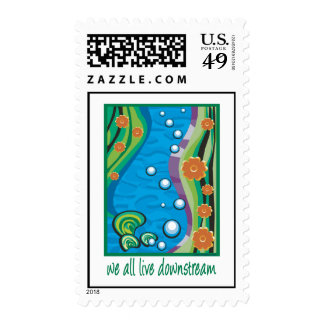 Water Pollution Postage