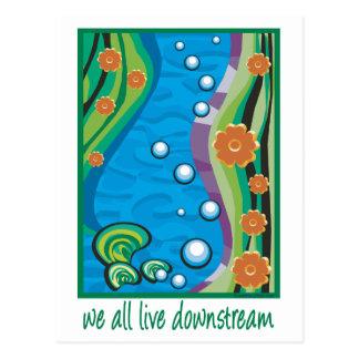 Water Pollution Postcard